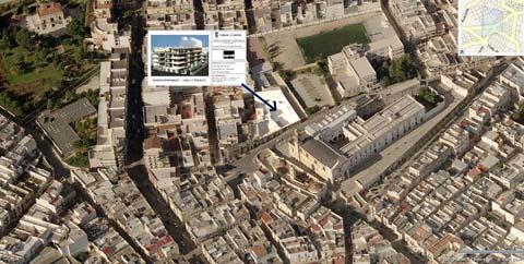 3D Ubicazione appartamenti in vendita ad Andria via Bottego