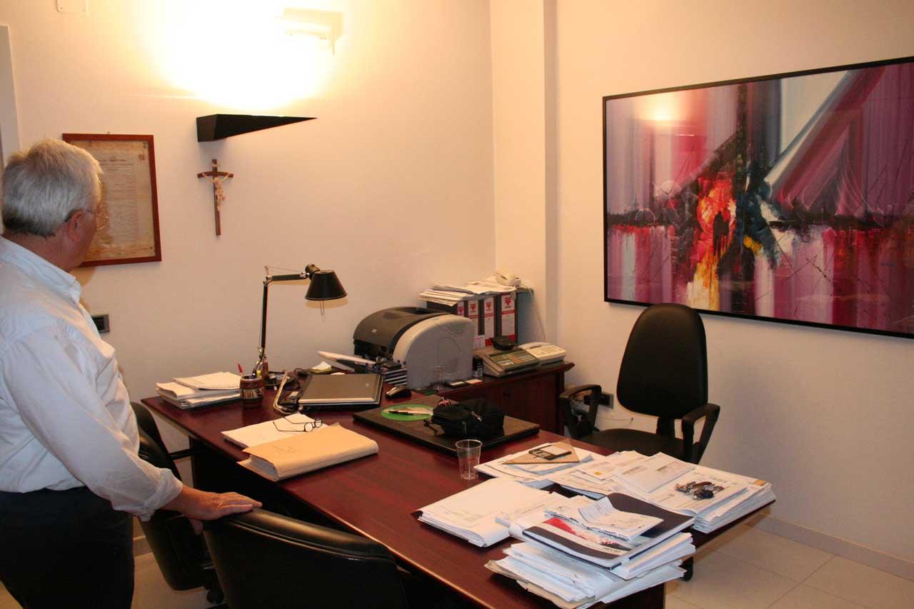 Vincenzo Ricciardi, Studio tecnico Impredil